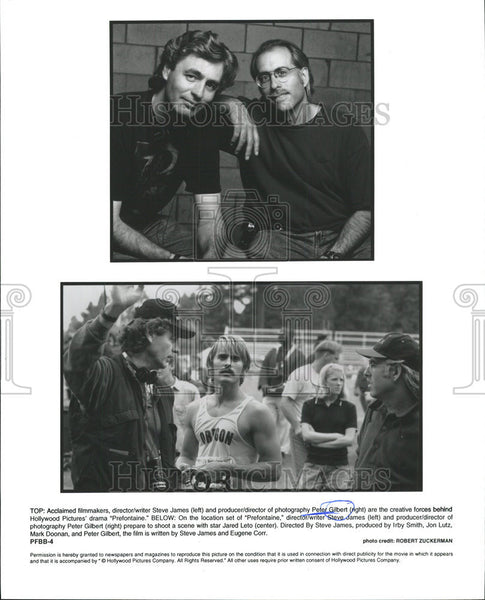None Press Photo, Steve James & Peter Gilbert - Historic Images