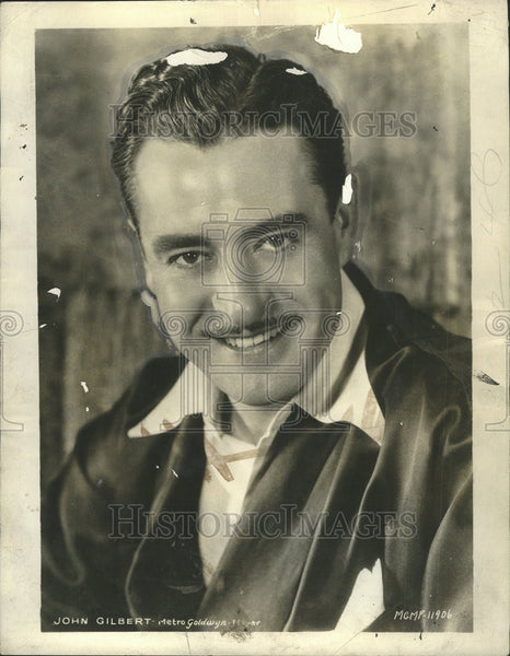 1930 Press Photo John Gilbert Stars In The Hollywood Revue - Historic Images