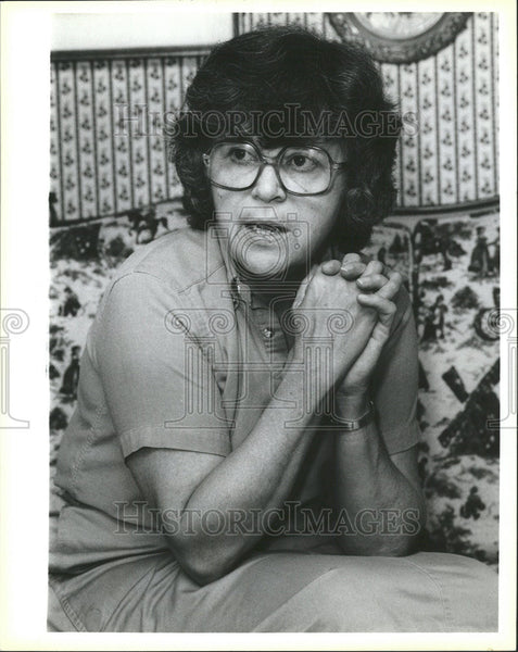 1986 Press Photo Activist Jean Gump - Historic Images