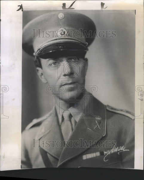 1941 Press Photo Prince Gustaf of Sweden Died Air Crash - Historic Images