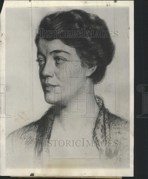 Press Photo Mrs. Anna Lobe, mother of Richard who is serving a life term. - Historic Images