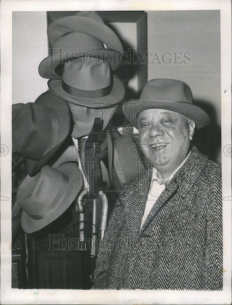 1957 Press Photo Illinois State Senator Rolan Libonati - Historic Images