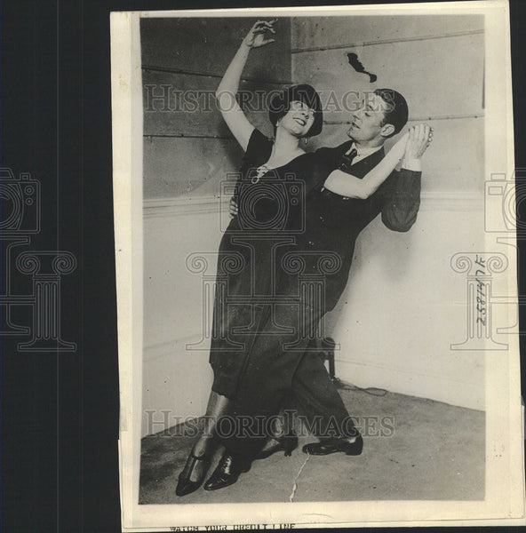 1921 Press Photo Former Edith Kelly, Dancing Partner Charles Brooks - Historic Images