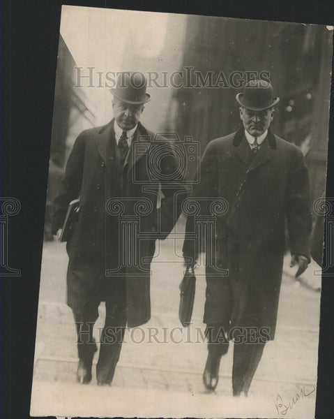 1911 Press Photo George Buckingham Levy Meyer Defendants Lawyer - Historic Images