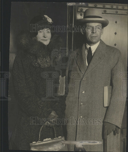 1930 Press Photo Robert Woods Bilss United States Ambassador and Mrs. Bliss - Historic Images