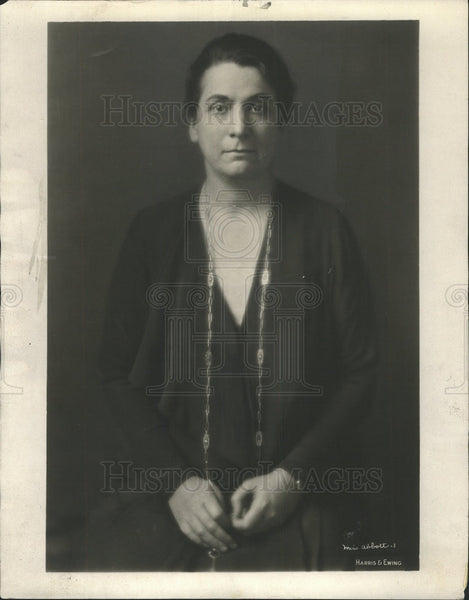 Press Photo Political Activist And Social Reformer Grace Abbott - Historic Images
