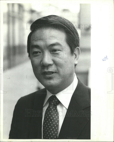 1982 Press Photo James Soong, Director of Governmental Information Office - Historic Images