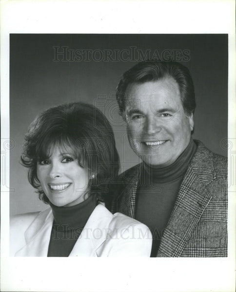1996 Press Photo Jill St. John and Robert Wagner (Actor and Actress) - Historic Images