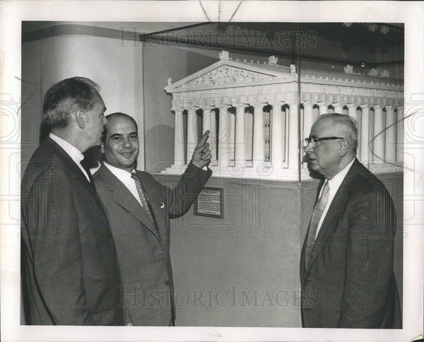 1960 Press Photo Stephanos Rocanas, Greek Consul General - Historic Images