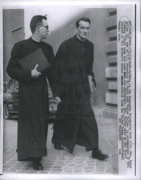 1959 Press Photo Rev. Avery Dulles - Historic Images