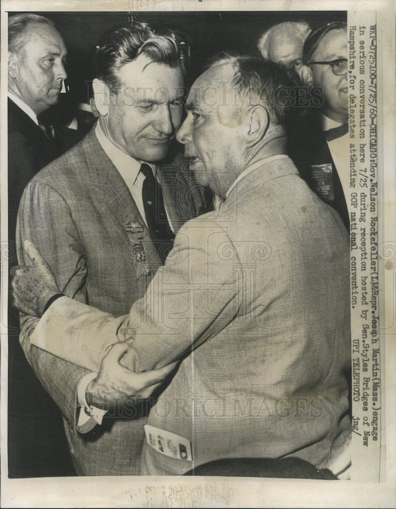 1960 Press Photo Nelson A. Rockefeller/US Vice President/Governor/Businessman - Historic Images