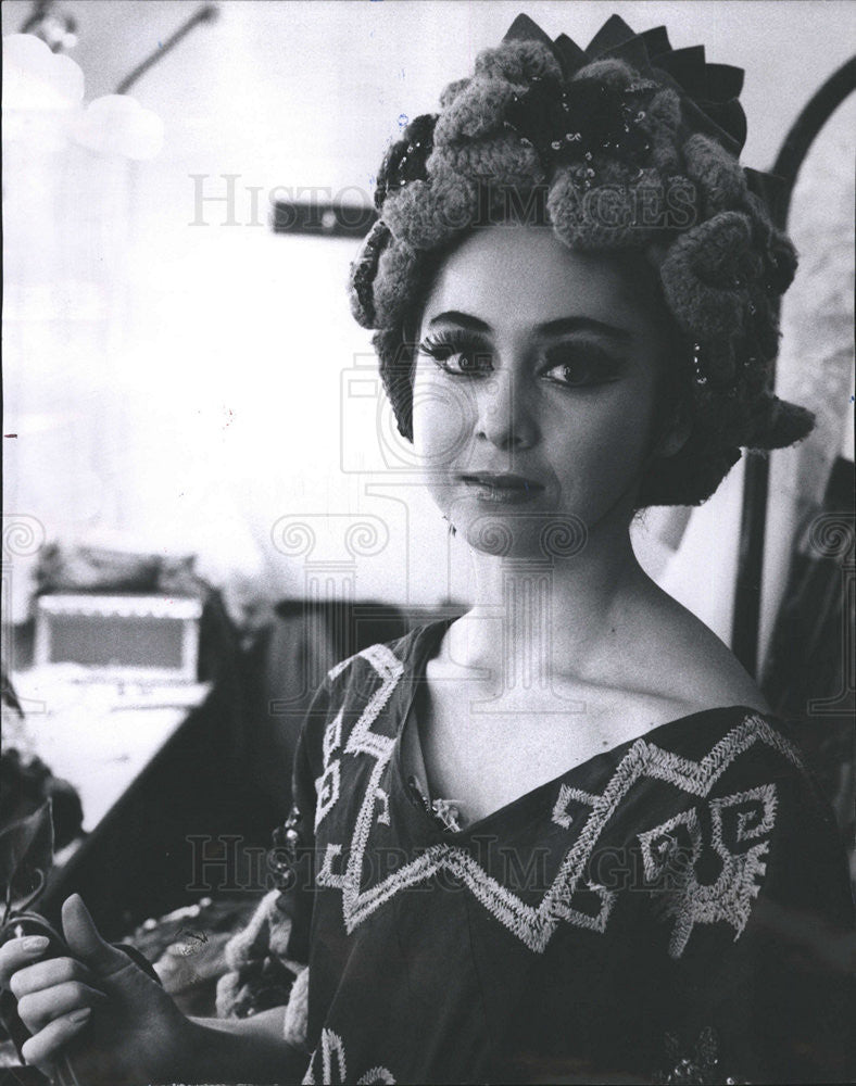 1965 Press Photo Haydee Maldonado American Ballet Dancer Choreographer Illinois - Historic Images