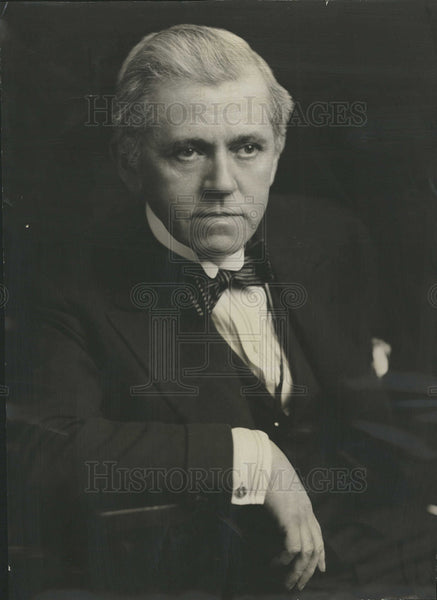 1930 Press Photo David Warfield American Stage Actor.