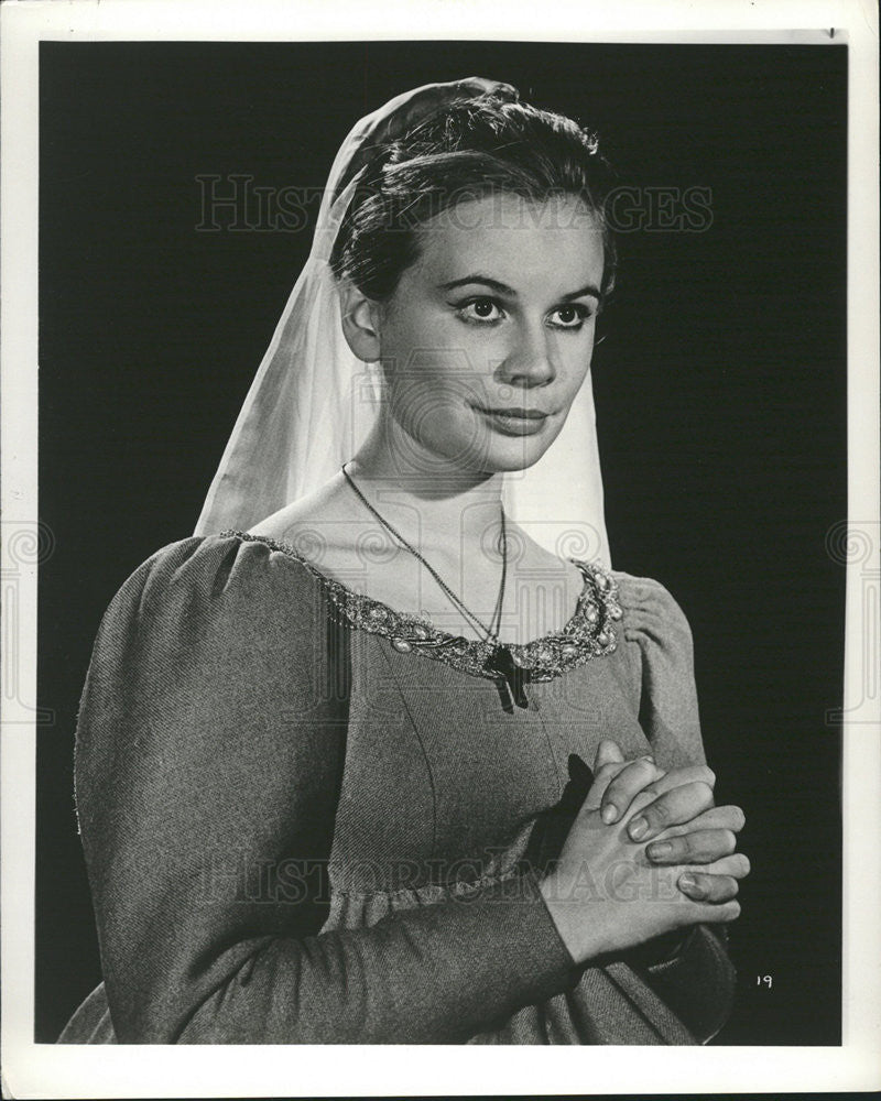 1962 Press Photo Joanna Dunham English Film Television Actress - Historic Images