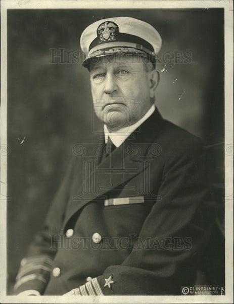 1940 Press Photo Admiral Hugh Rodman retired commandant of the Norfolk Navy Yard - Historic Images