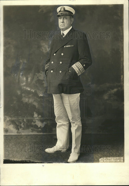 1923 Press Photo Admiral High Rodman US Military - Historic Images