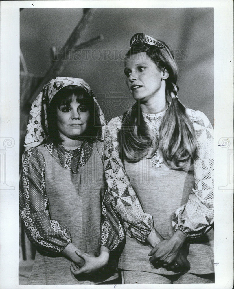 1971 Press Photo Alice Playten and Louise Lasser, actresses - Historic Images