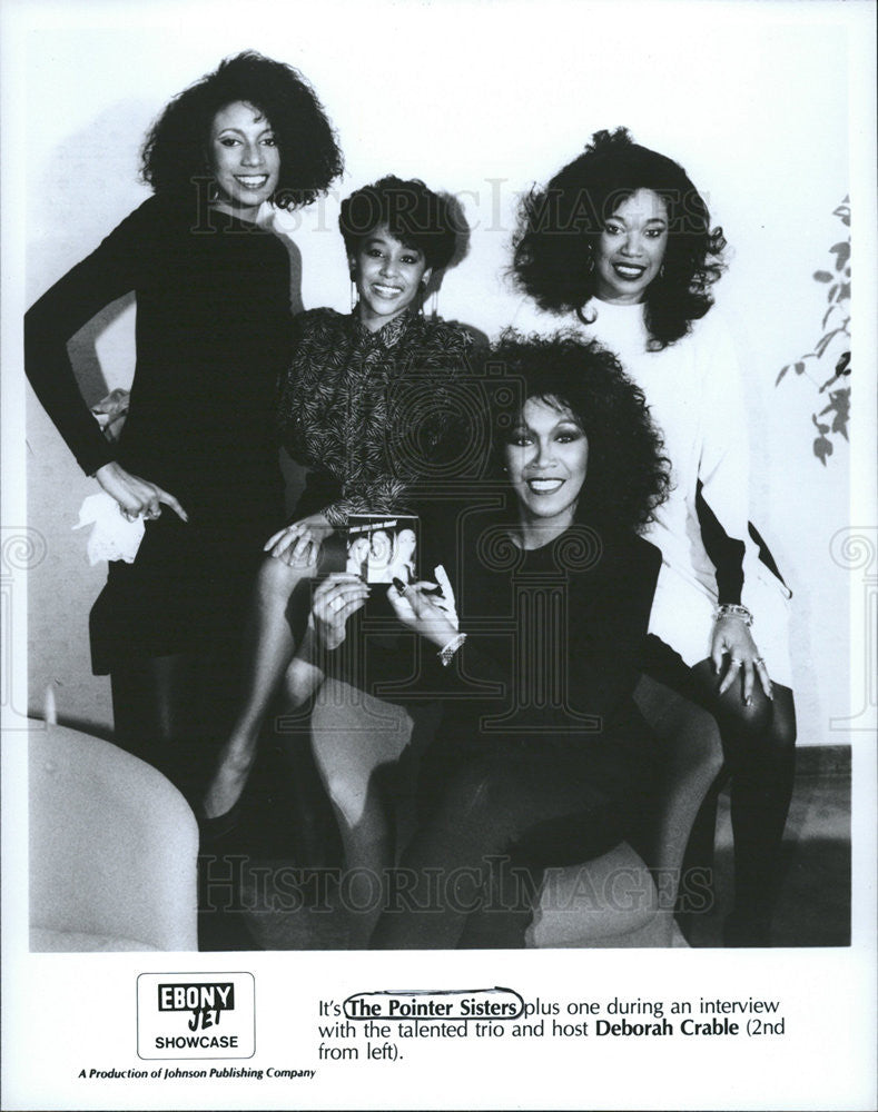 Press Photo The Pointer Sisters,singing group - Historic Images
