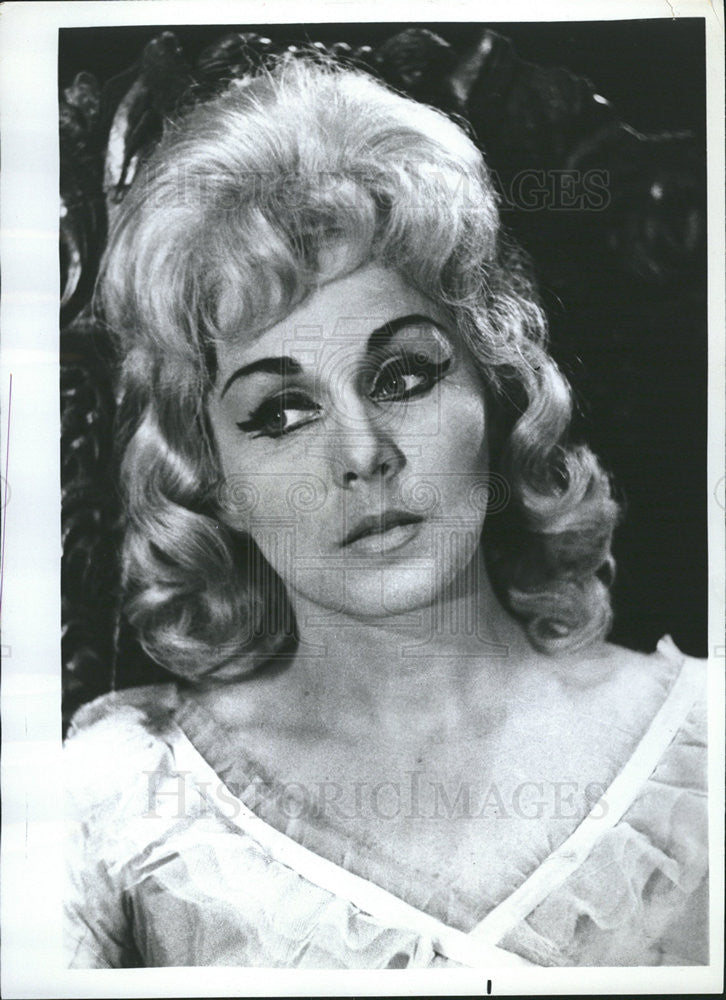 1969 Press Photo Vlasta Ployharova,actress- singer - Historic Images