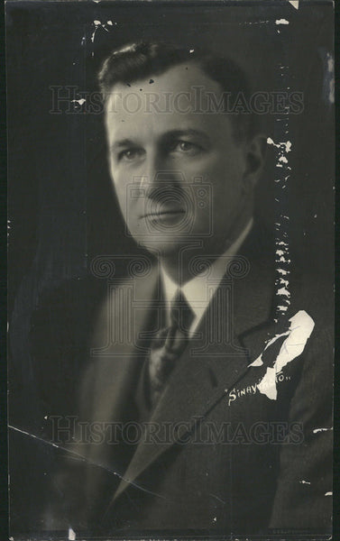 1930 Press Photo Charles Chrysler Oak Park Illinois President - Historic Images