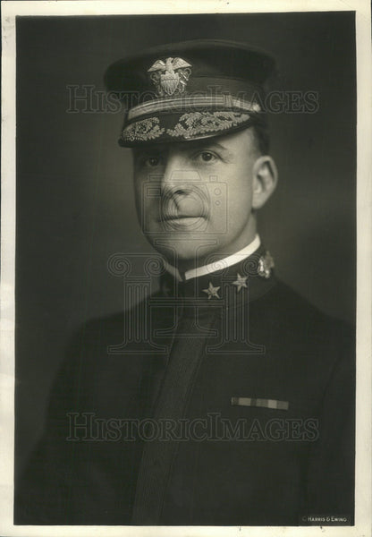 1933 Press Photo Christian Peoples Paymaster General United States Navy - Historic Images