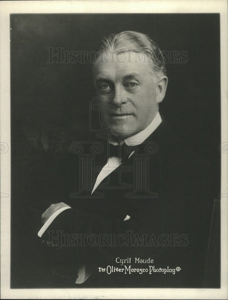 1915 Press Photo Cyril Maude British Film Actor Manager - Historic Images