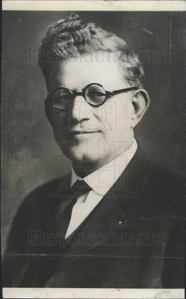 1932 Press Photo Milo Reno,Insurance Co. and farmers union leader - Historic Images