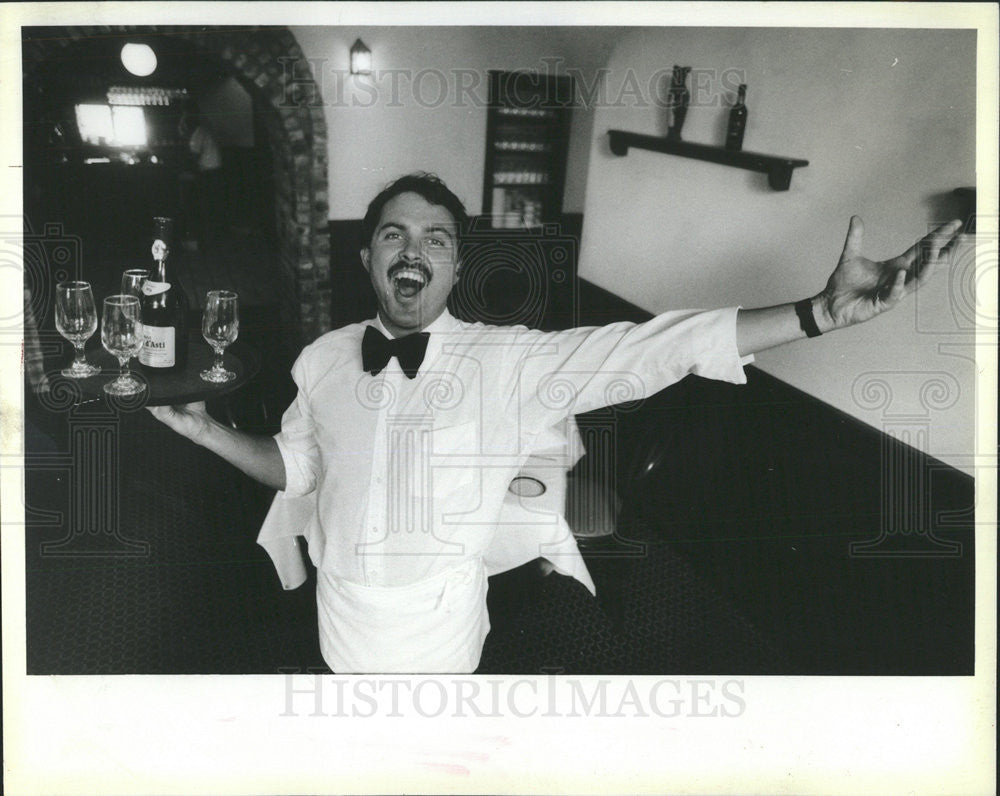 1986 Press Photo Alex Magno Mexican Country Music Singer Mexico - Historic Images