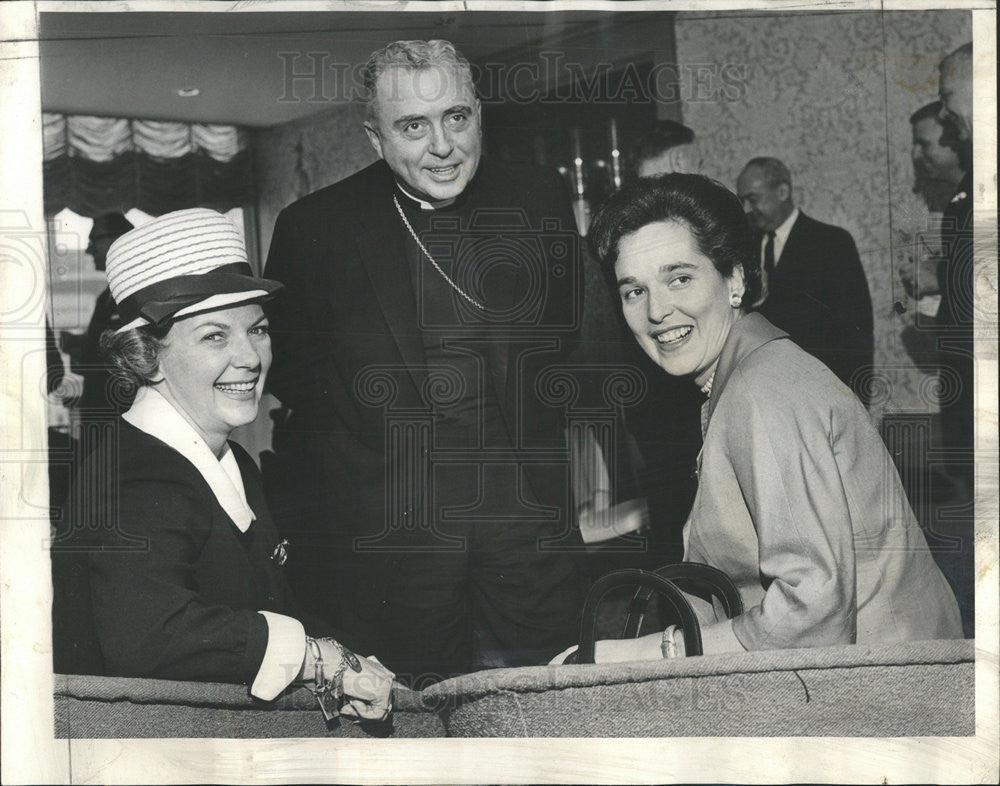 1963 Press Photo Episcopal Luncheon - Historic Images
