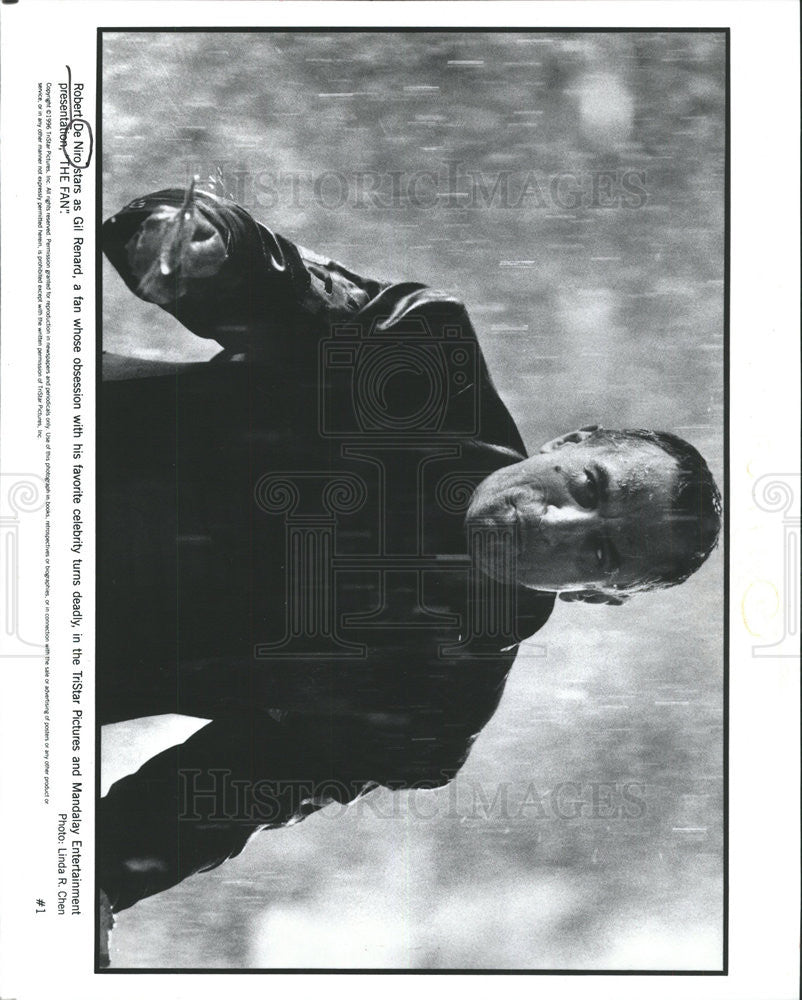 PRESS PHOTO ROBERT DE NIRO AMERICAN ACTOR DIRECTOR PRODUCER - Historic Images