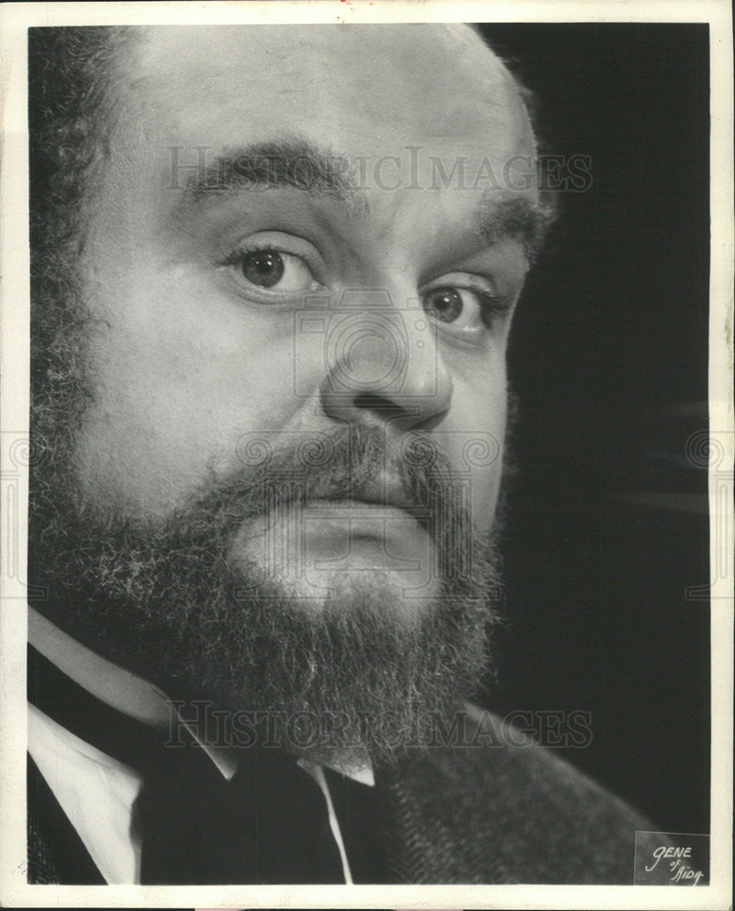 "1966 Press Photo Edgar Daniels Actor ""Tartuffe"" Moliere's comedy film Goodman - Historic Images"