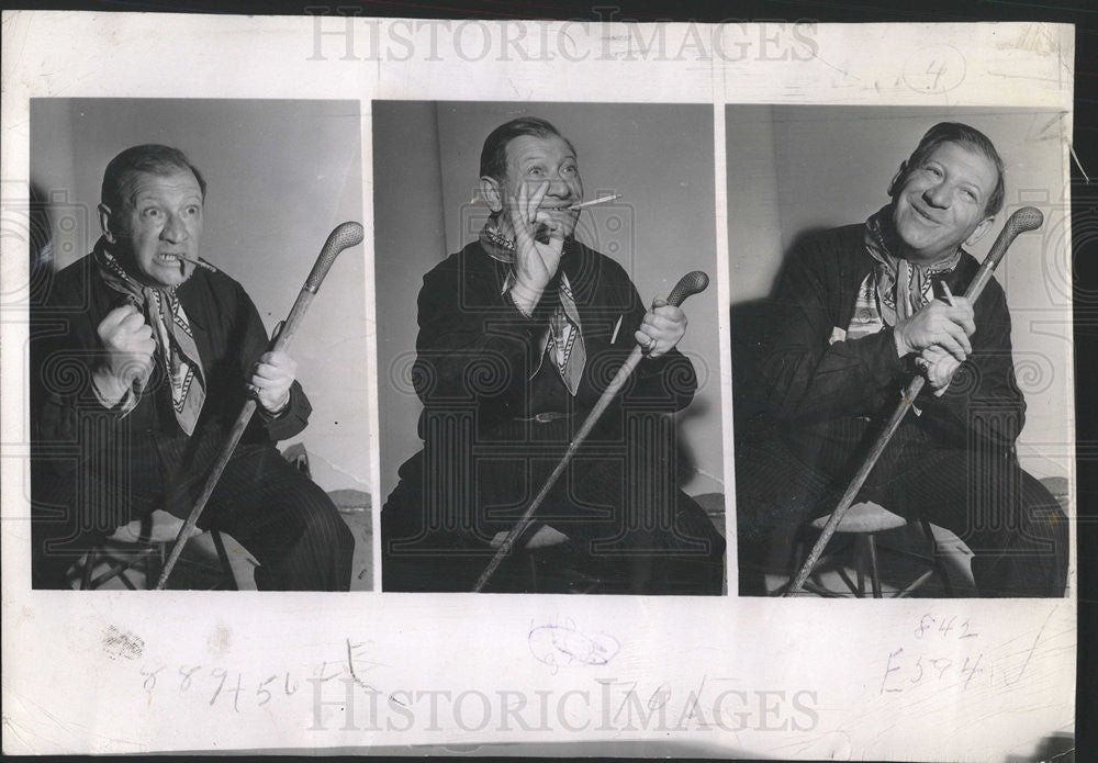1944 Press Photo Gregory Kearnov American Film Director Chicago Illinois - Historic Images