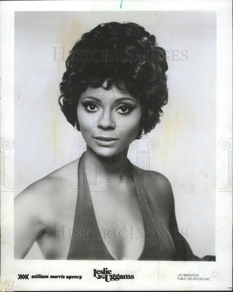 1974 Press Photo Actress Leslie Uggams promotional photo - Historic Images