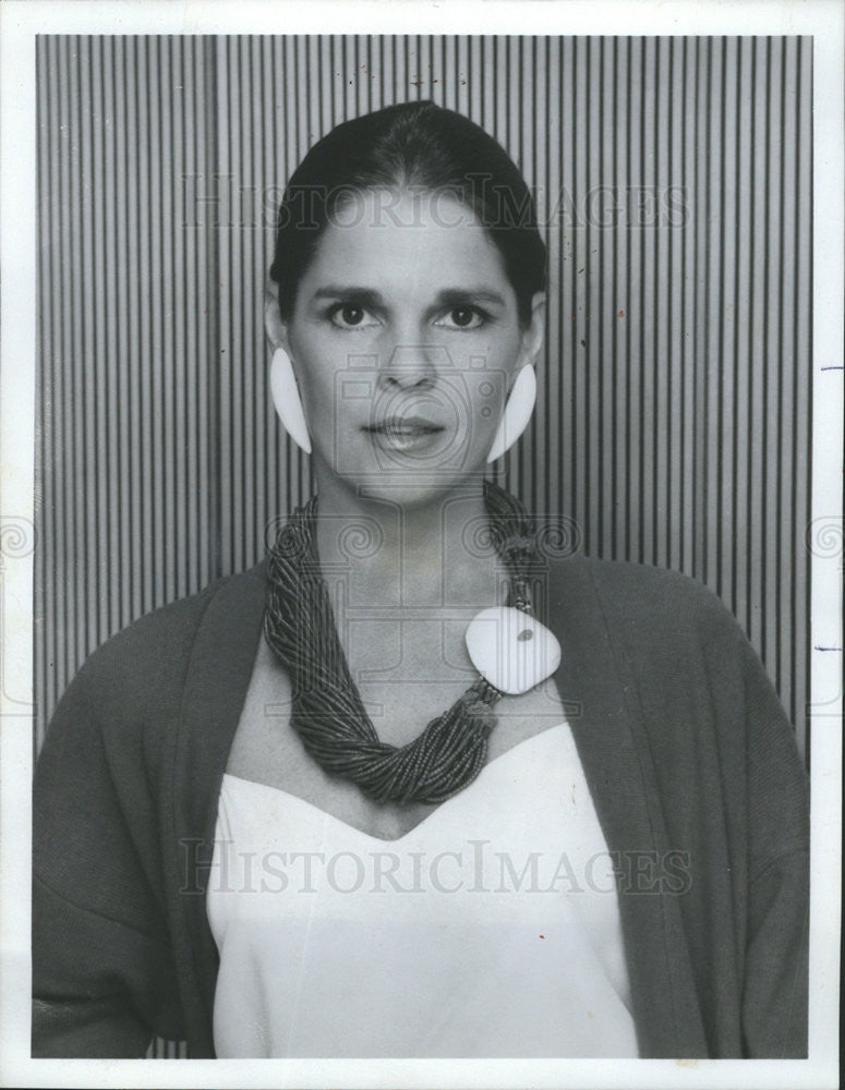 "1985 Press Photo Ali MacGraw, ""Dynasty"" Actress - Historic Images"