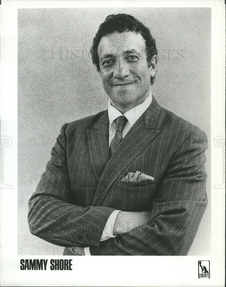 1975 Press Photo Actor Sammy Shore - Historic Images