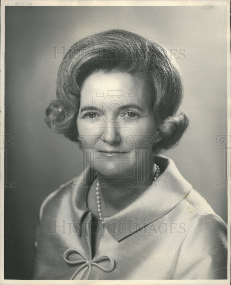1968 Press Photo Mrs. Lester Maddox, wife of Georgia Governor - Historic Images