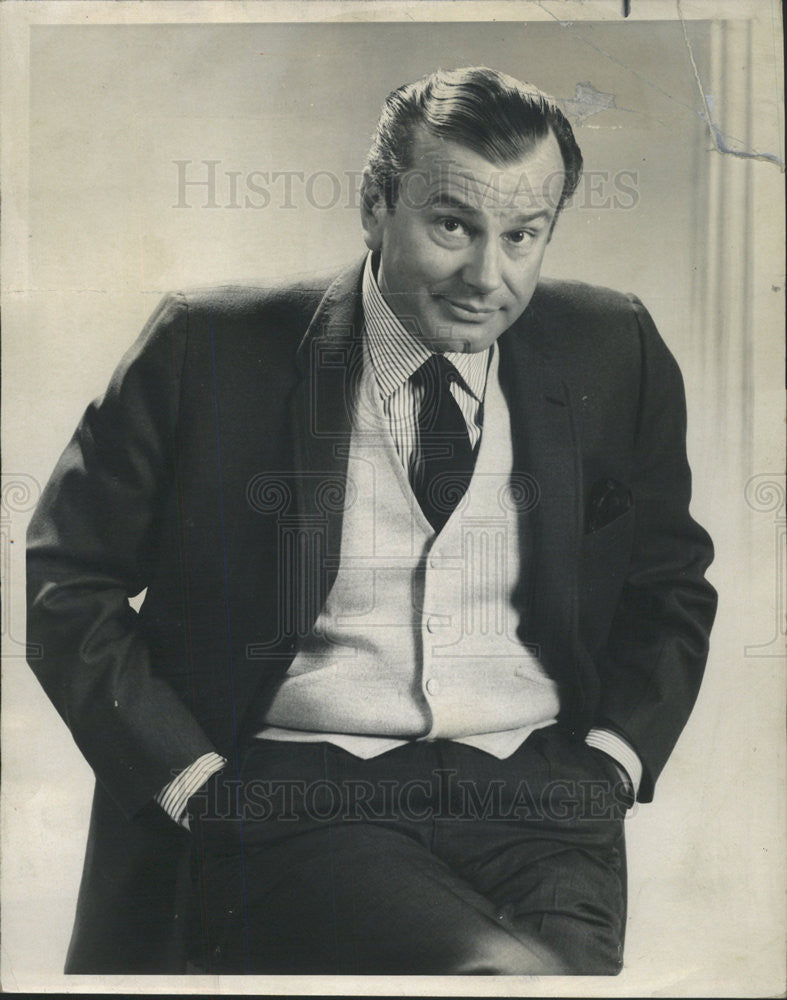 "1967 Press Photo ""Jack Paar and a Funny Thing Happened on the Way to Hollywood"" - Historic Images"