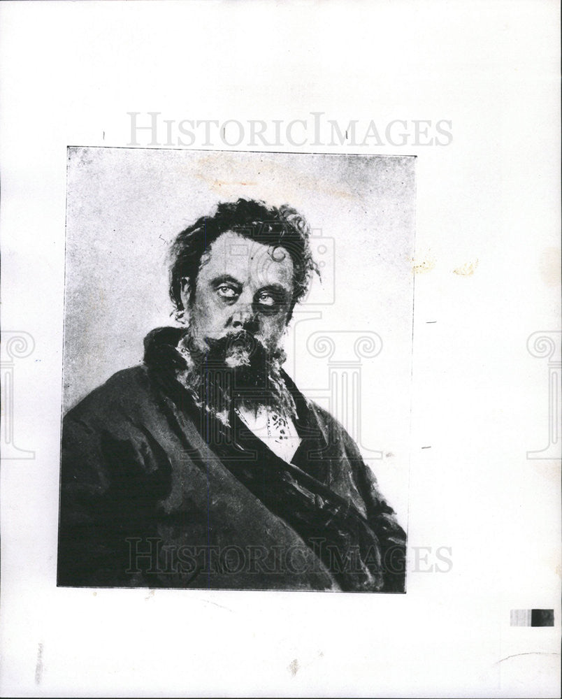 1969 Press Photo MUSSORGSKY RUSSIAN COMPOSER - Historic Images
