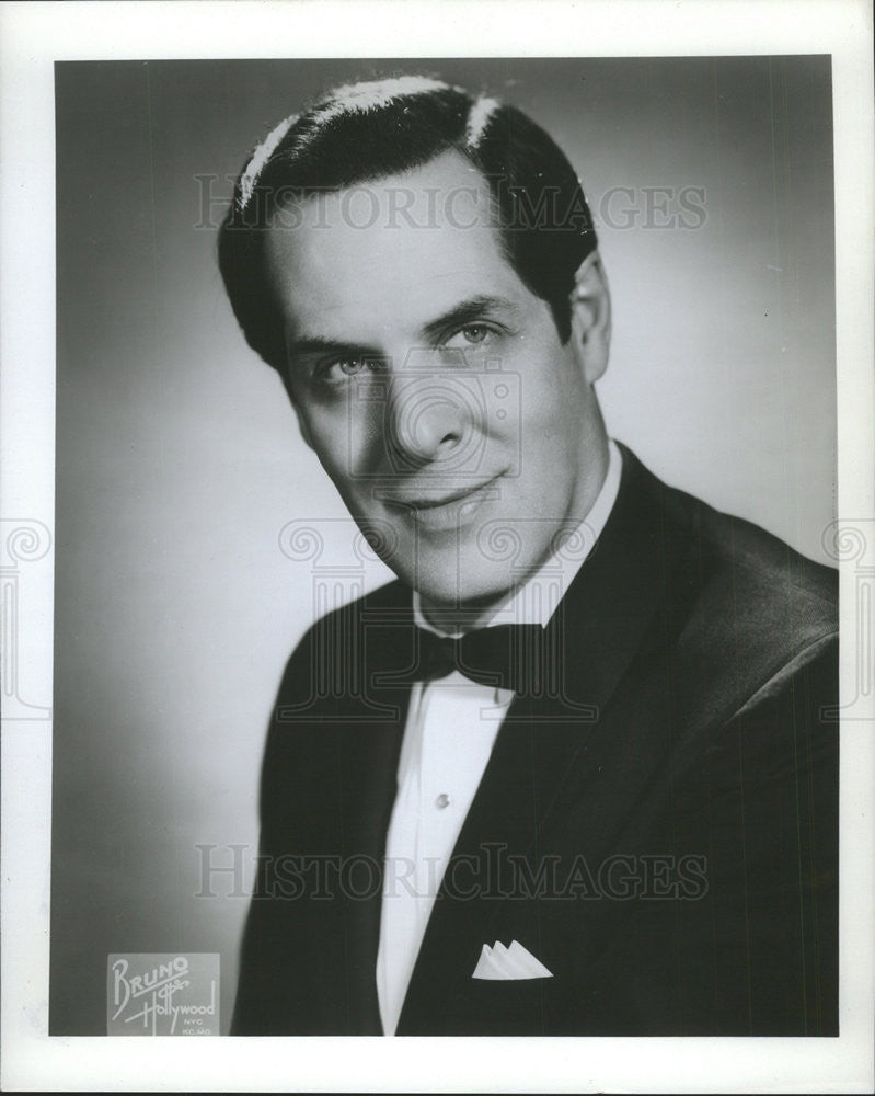 1973 Press Photo Morley Meredith Lyric Opera Chicago - Historic Images