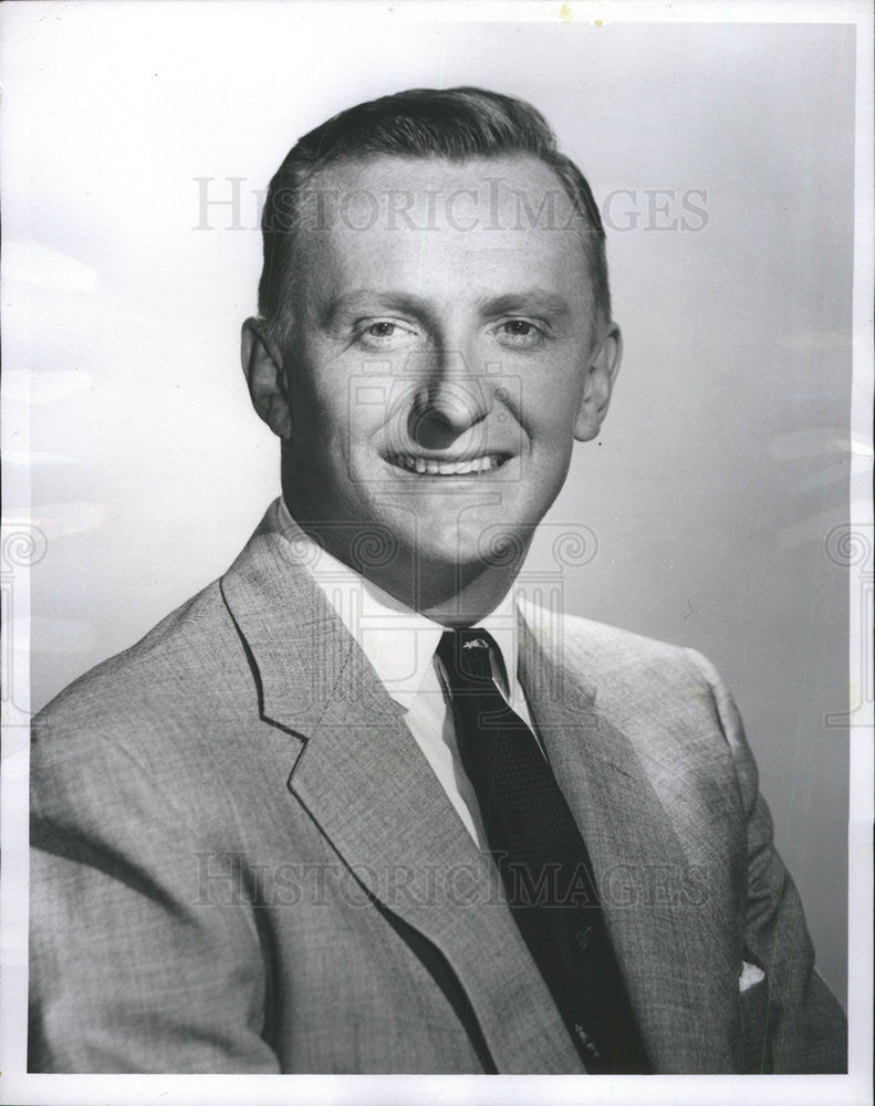 Press Photo Roy Neal,correspondent - Historic Images