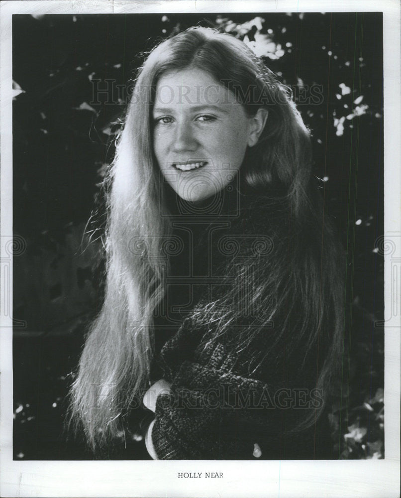 1976 Press Photo Musician Holly Near Performance At Atheneum Theater - Historic Images