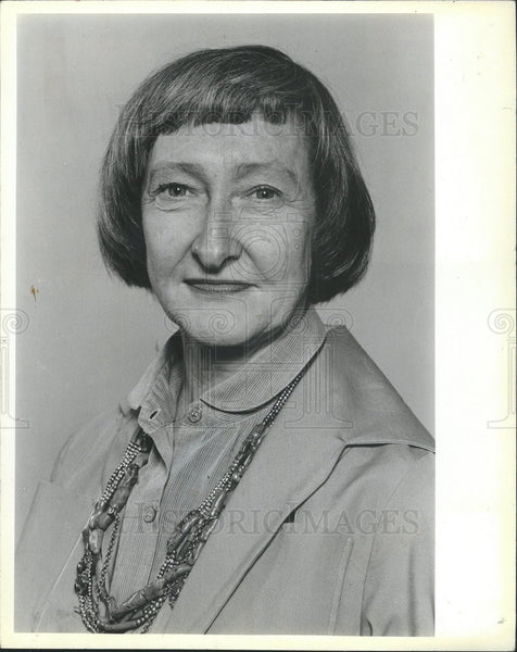 1984 Press Photo Dawn Clark Netsch Illinois Professor of Law and Politician - Historic Images
