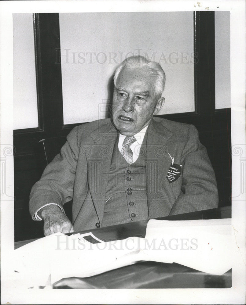 1955 Press Photo J. G. Peirson to surrender for involuntary manslaughter. - Historic Images