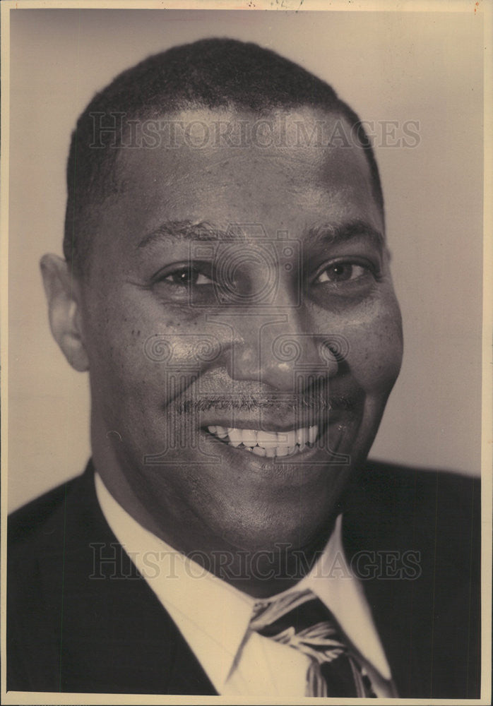 1994 Press Photo David Reed Chairman Harold Washington Party - Historic Images