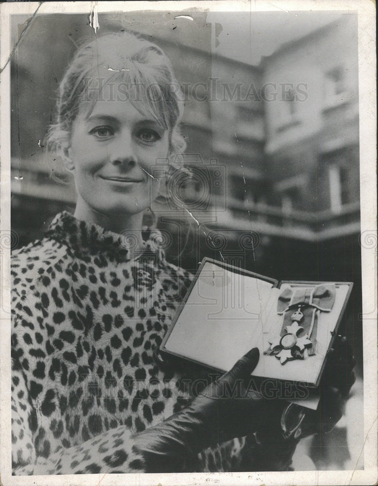 1969 Press Photo Vanessa Redgrave Actress - Historic Images