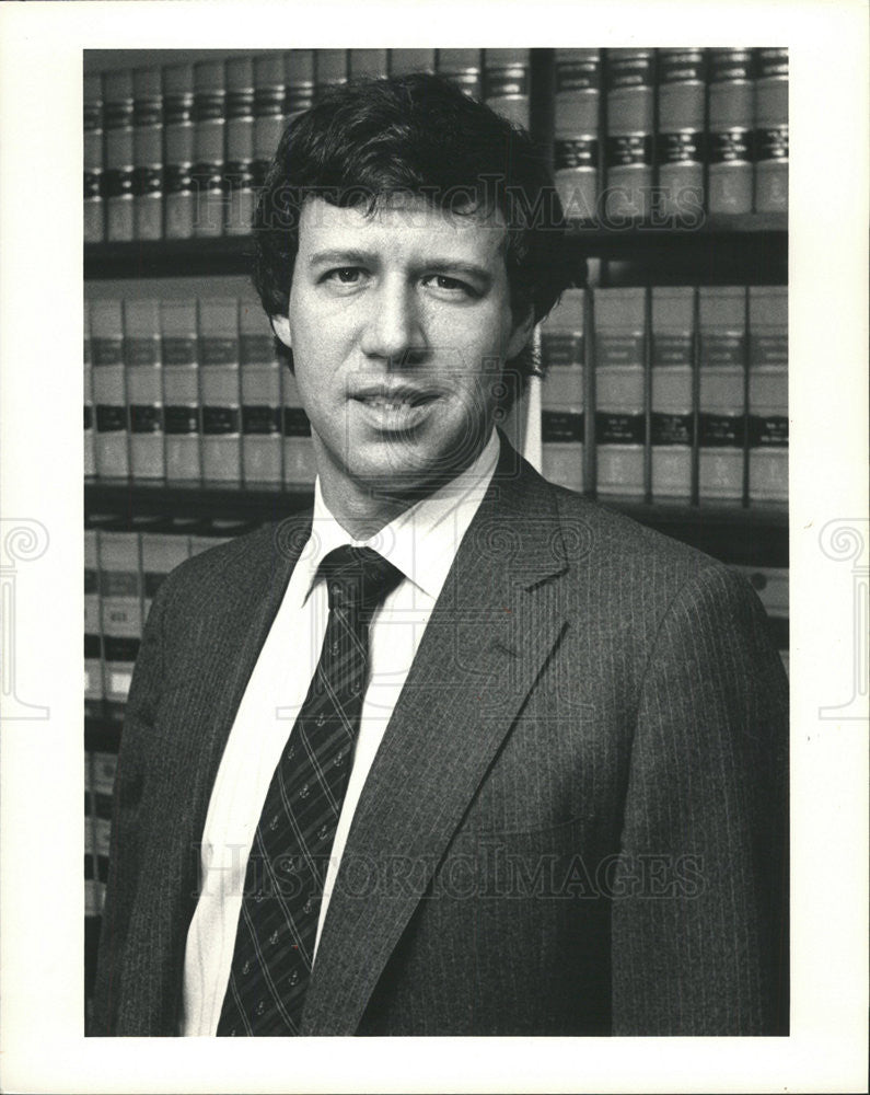 1993 Press Photo Geoffrey R. Stone American Law Professor - Historic Images