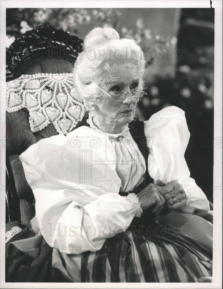 "1991 Press Photo Academy Award Winner Jessica Tandy ""Driving Miss Daisy"" - Historic Images"
