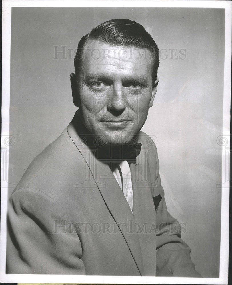 1956 Press Photo Charles McGraw American Film Television Actor - Historic Images