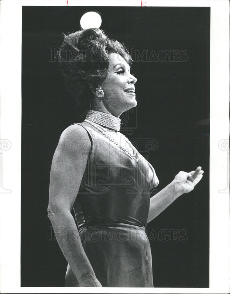 1973 Press Photo Patrice Munsel I Do! I Do! - Historic Images