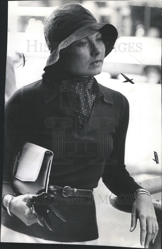 1974 Press Photo Susan Reed editor of Mademoiselle Magazine - Historic Images